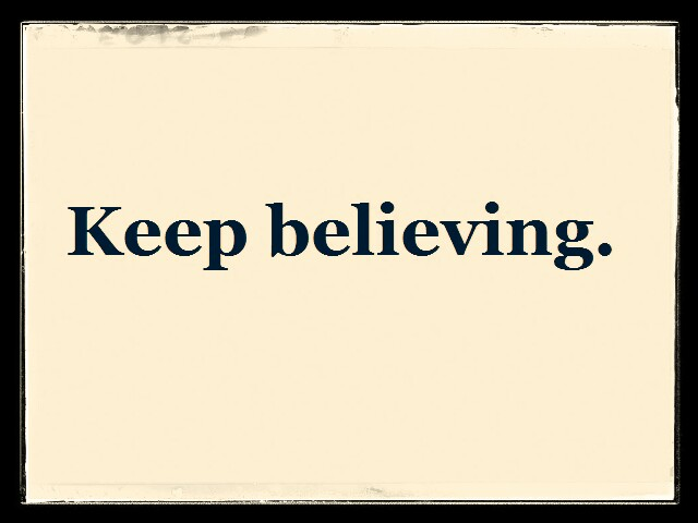 keep-believing