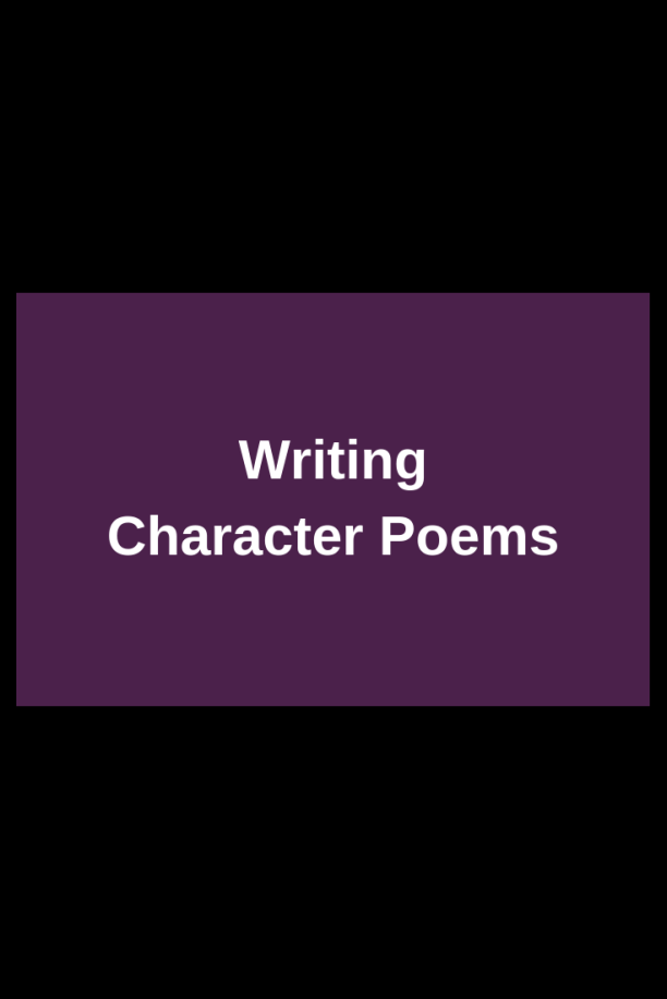 character-poems