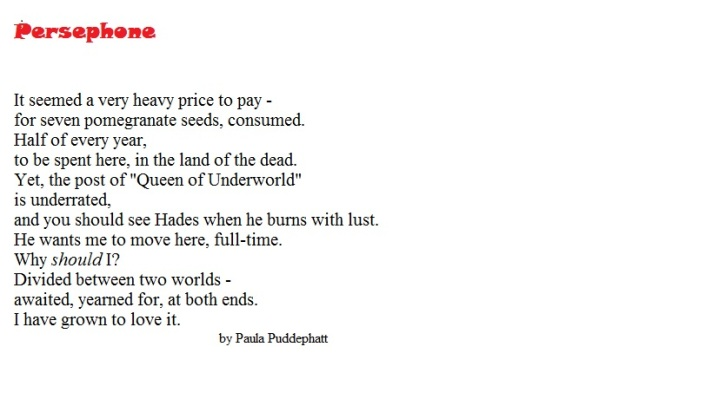 Persephone-poem