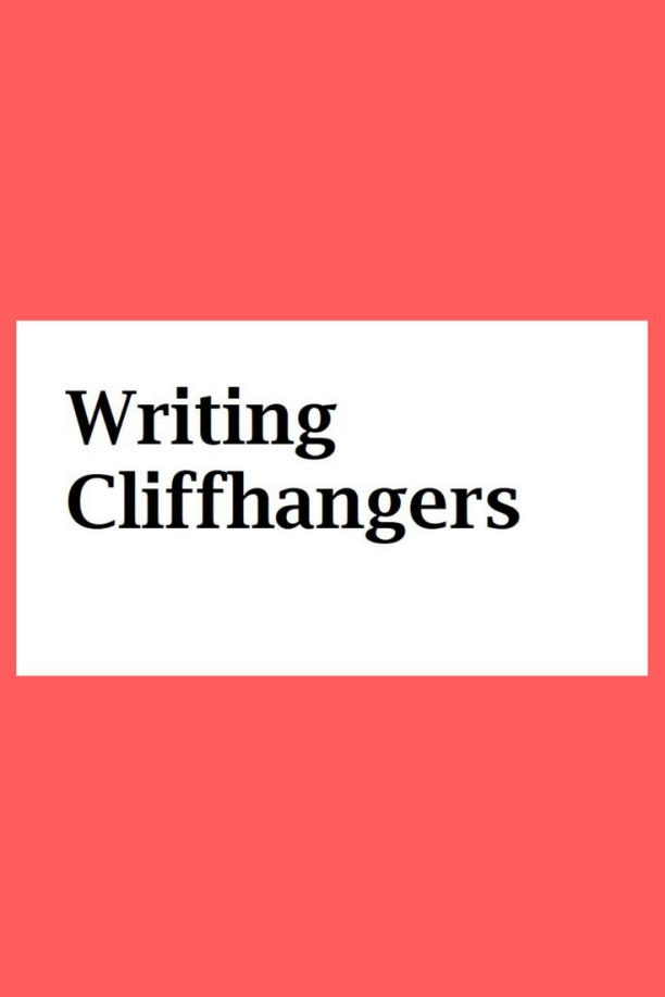 cliffhanger-writing