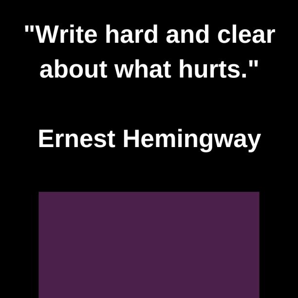 write-hard-clear